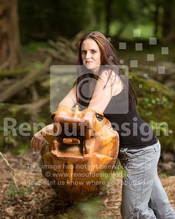 Lizzy in the New Forest 8