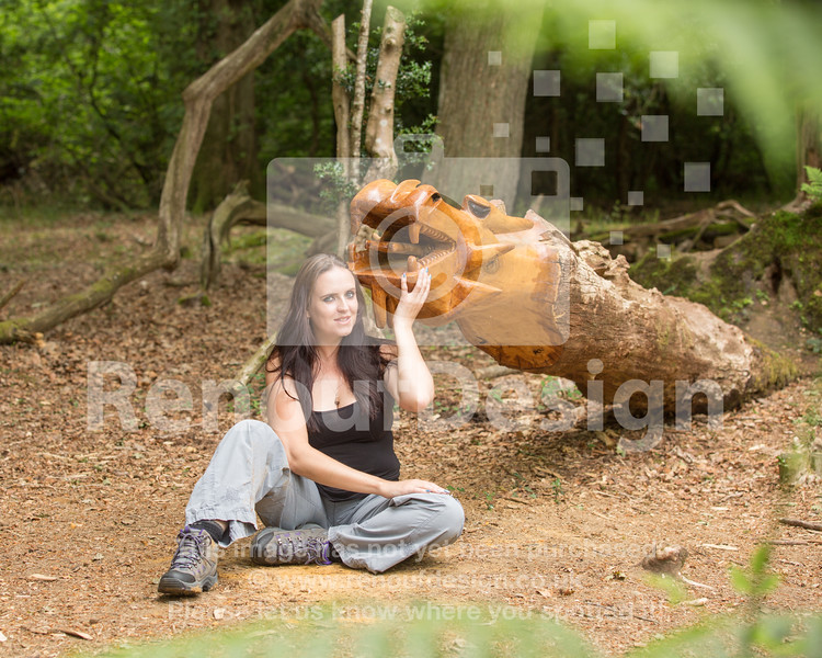Lizzy in the New Forest 11
