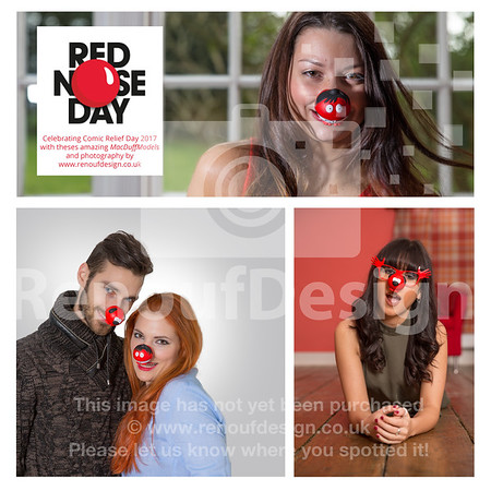 Comic Relief Group Shoot
