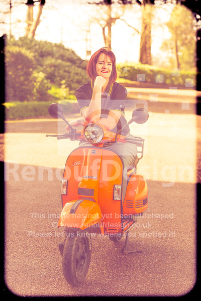 Moped Molly 12 sunshine Vintage