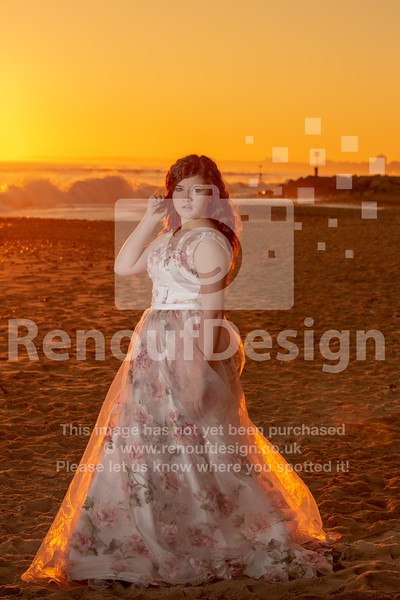 11 - Sunset on the beach