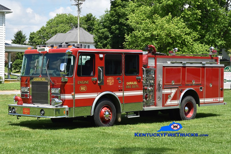 Gamaliel Engine 862<br /> x-Anna, OH<br /> 1988 Spartan/Darley 1500/1000<br /> Greg Stapleton photo