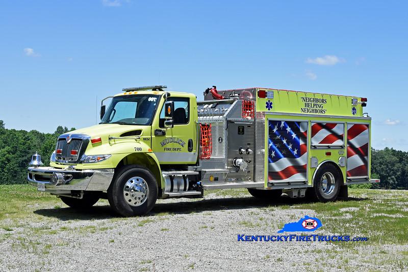 Mudlick  Engine 700<br /> 2021 International MV/Southeast 1500/1250<br /> Kent Parrish photo