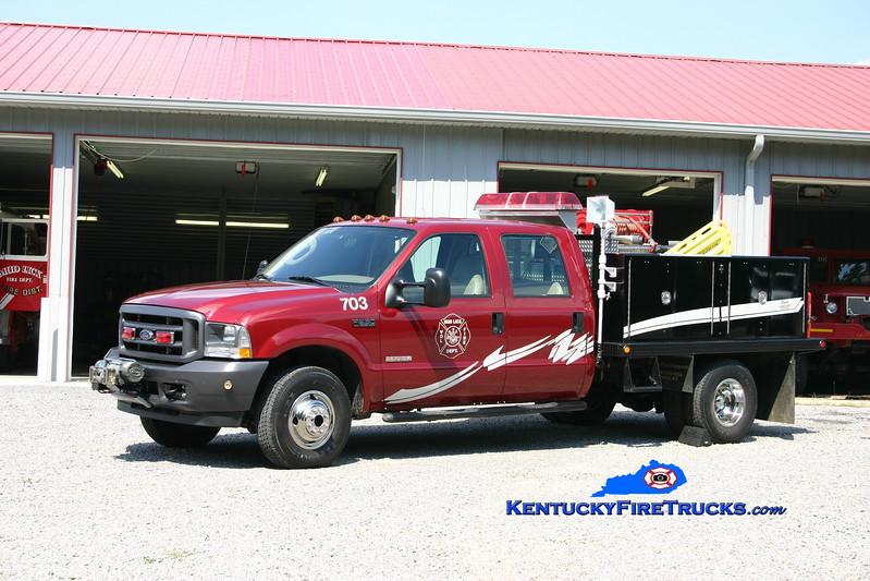 <center> Mud Lick  Squad 703 <br> 2003 Ford F-350 4x4/Wynn 250/250 <br> Kent Parrish photo </center>