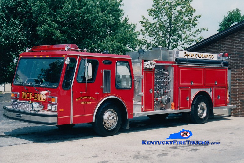 <center> RETIRED <br> Montgomery County  Engine 3 <br> 1984 E-One Hurricane 1250/1000/100 <br> Greg Stapleton photo </center>