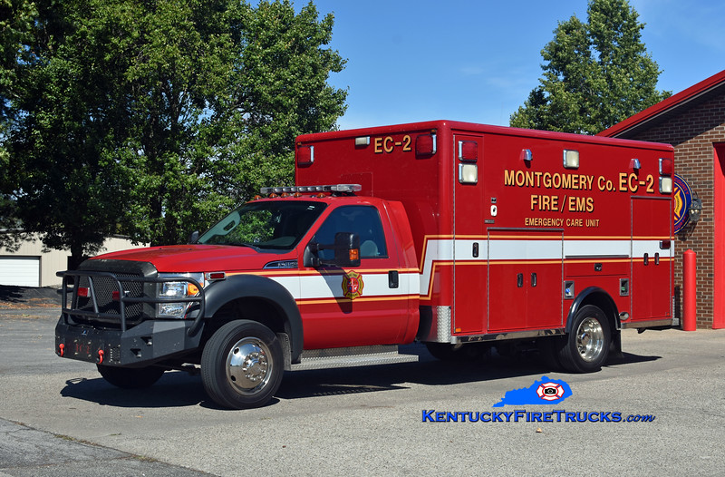 Montgomery County  Emergency Care 2<br /> 2015 Ford F-450 4x4/Excellance (2004 Horton)<br /> Kent Parrish photo