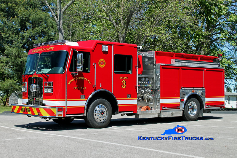 <center> Montgomery County  Engine 3 <br> 2012 Sutphen Guardian 1250/1000 <br> Kent Parrish photo </center>