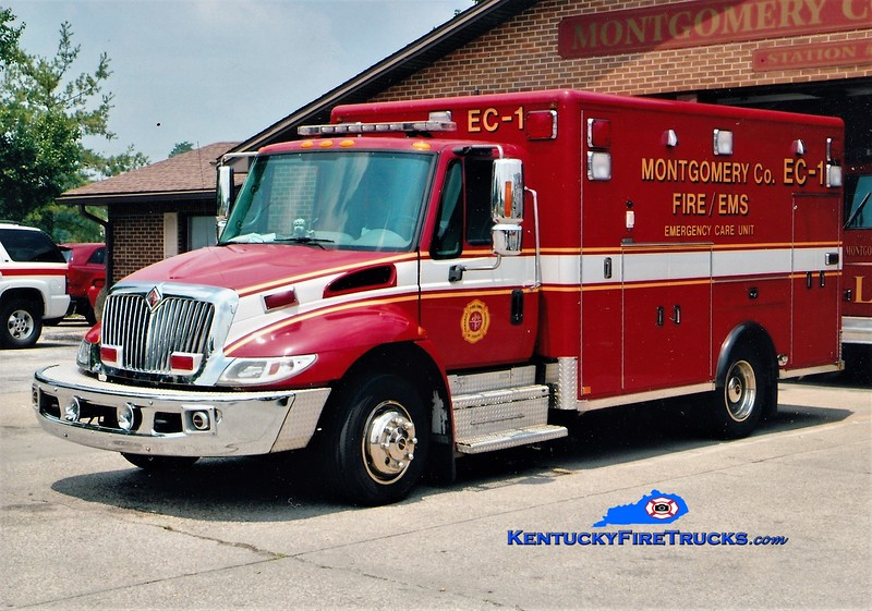 REMOUNTED <br /> Montgomery County Emergency Care 1<br /> 2004 International 4300/Horton<br /> Greg Stapleton