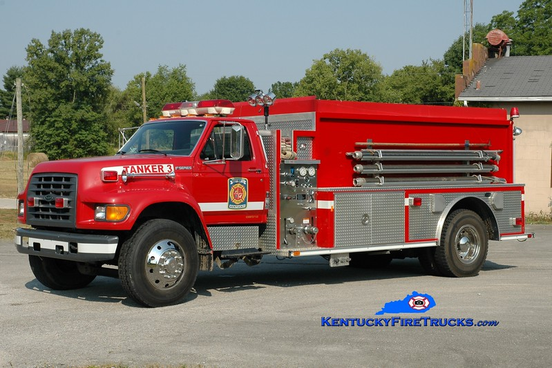 <center> Montgomery County  Tanker 1  <br> x-Tanker 3 <br> 1997 Ford F-800/E-One 250/1800 <br> Greg Stapleton photo </center>