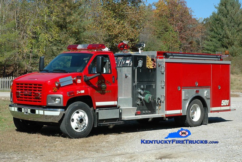 Highway 172  Engine 501<br /> 2006 GMC 8500/Crimson 1250/1000<br /> Greg Stapleton photo