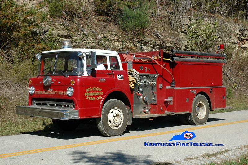Highway 172 Engine 901<br /> x-Mt Zion, PA<br /> 1967 Ford C-850/Seagrave-Timpco 750/750<br /> Greg Stapleton photo