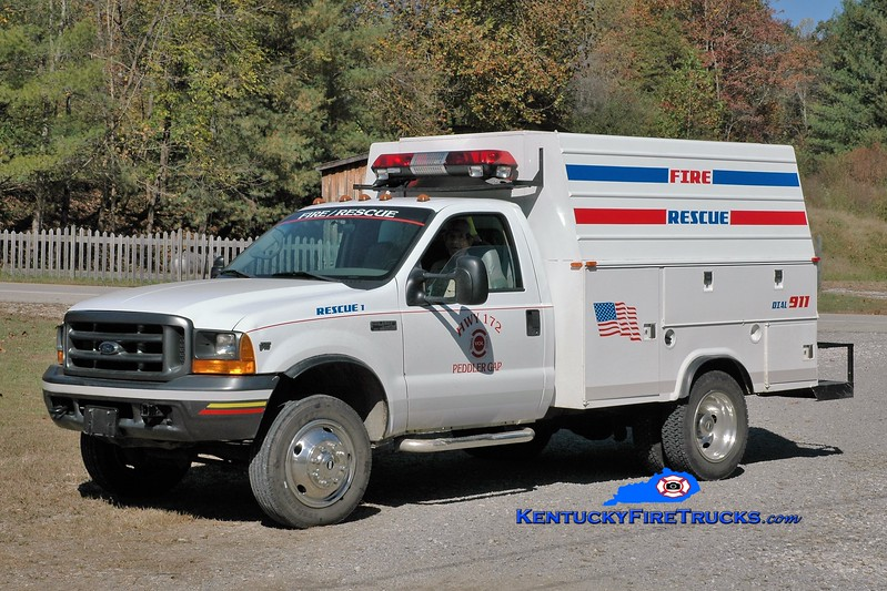 Highway 172  Rescue 501<br /> 2001 Ford F-450 4x4/Stahl<br /> Greg Stapleton photo
