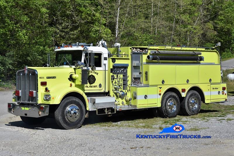 White Oak Engine 601<br /> x-Woodbury, CT<br /> 1977 Kenworth/Oren-Grumman 1250/2500<br /> Greg Stapleton photo