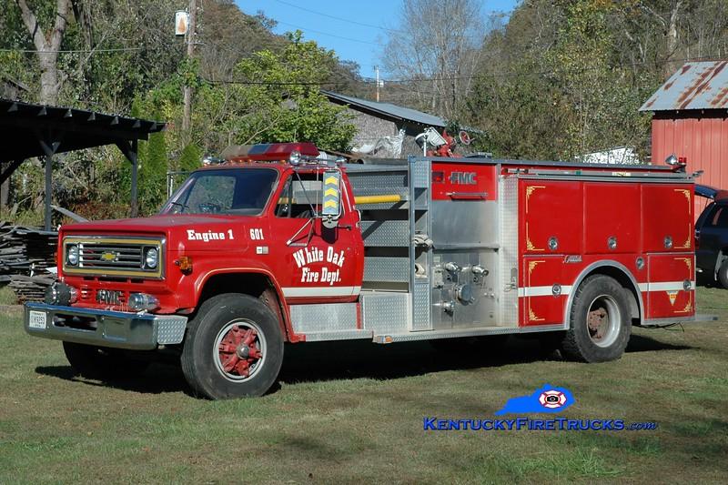 White Oak Engine 601<br /> x-Fayetteville, AR<br /> 1984 Chevy C70/FMC 1000/1000<br /> Kent Parrish photo
