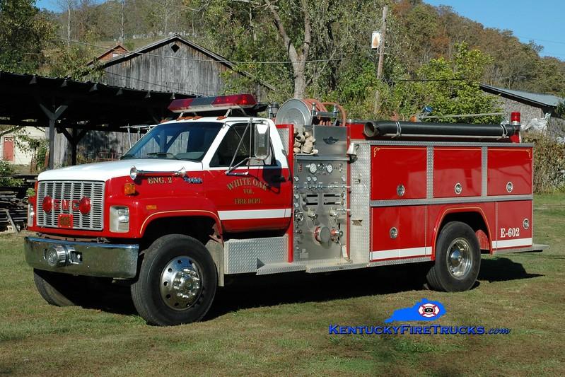 White Oak  Engine 602<br /> 1992 GMC Topkick/American 1250/1000<br /> Greg Stapleton photo