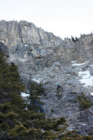 Mt Baldy Jan 2009 Wrong approach