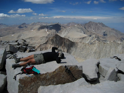 Exhaustion at 14,496 feet