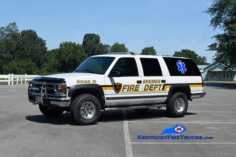 Bremen  Squad 16<br /> 1998 Chevy Suburban 2500 4x4<br /> Kent Parrish photo