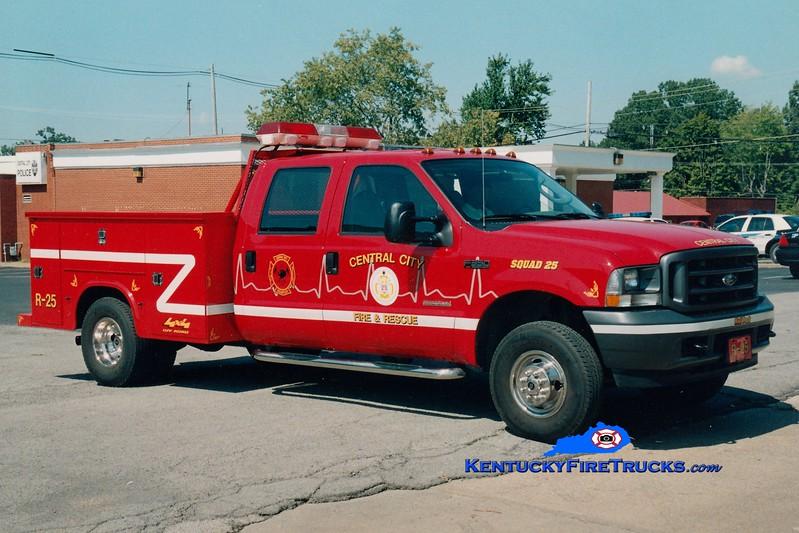 Central City  Squad 25<br /> 2005 Ford F-350 4x4/Reading<br /> Greg Stapleton photo