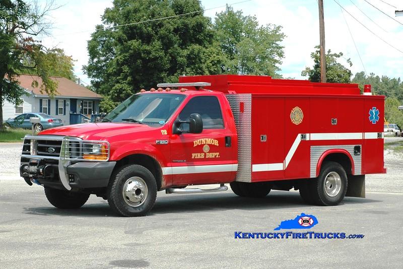 <center> Dunmor  Rescue 72  <br> 1999 Ford F-350 4x4/Knapheide/Stewarts <br> Greg Stapleton photo </center>