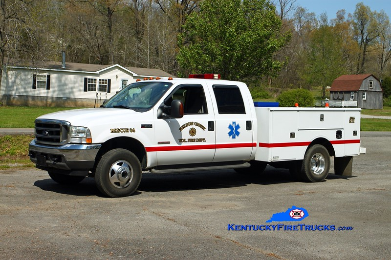 Nelson Creek  Rescue 84<br /> 2003 Ford F-350 4x4/Pro Performance<br /> Kent Parrish photo