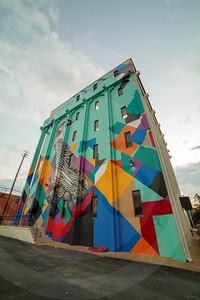 Columbia 5 Story Mural