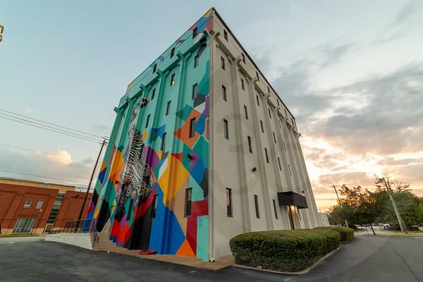 Columbia 5 Story Mural-2
