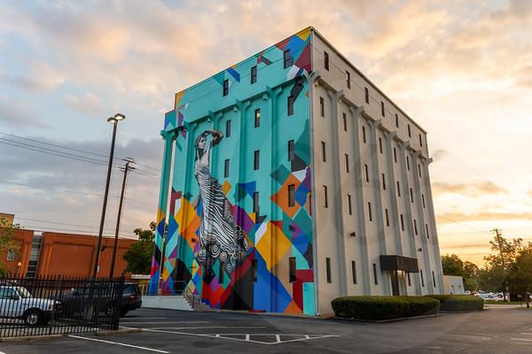 Columbia 5 Story Mural-5