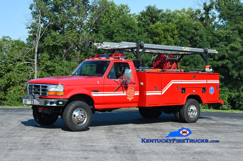 Bardstown Rescue 1<br /> x-Southeast Bullitt, KY<br /> 1994 Ford F-350 4x4/Stahl/2021 FD/Ironworks 250/250<br /> Kent Parrish photo