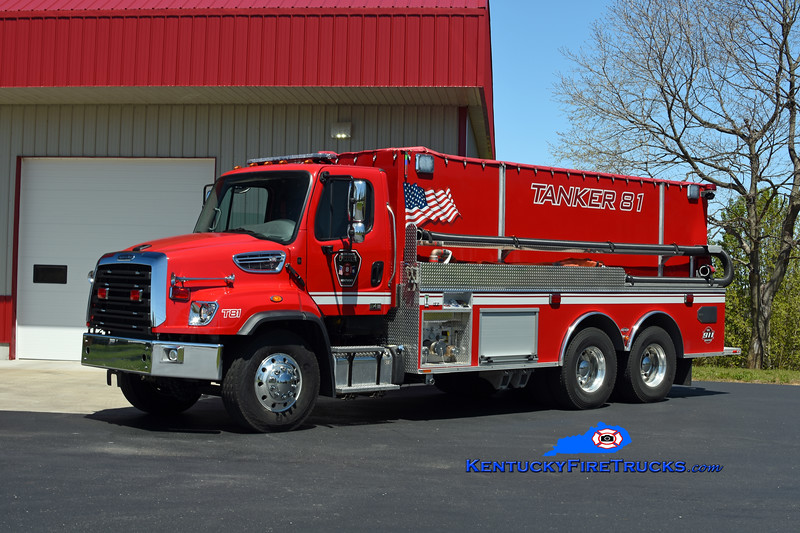 Nelson County  Tanker 81<br /> 2018 Freightliner 114SD/Southeast Apparatus 500/4000<br /> Kent Parrish photo