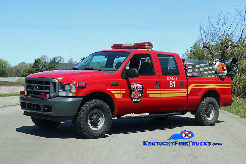 Nelson County  Brush 81<br /> 2003 Ford F-250 4x4 250/250<br /> Kent Parrish photo