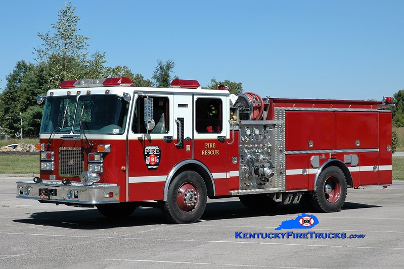 Nelson County  Engine 82<br /> x-Bardstown-Nelson County, KY<br /> 1995 Spartan/Ferrara Invader 1000/500/20<br /> Greg Stapleton photo