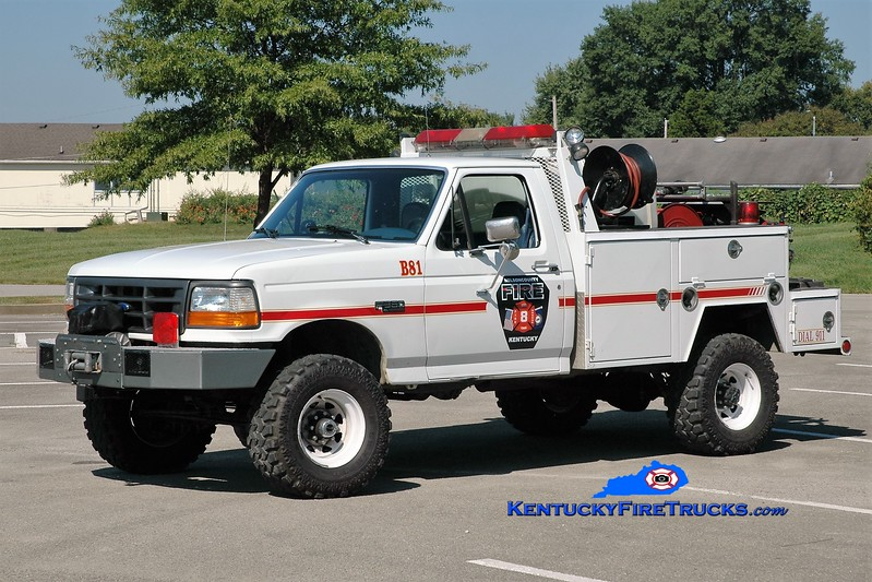 Nelson County  Brush 82<br /> x-Brush 81 <br /> x-Bardstown-Nelson County, KY<br /> 1996 Ford F-350 4x4/Local 250/200<br /> Greg Stapleton photo