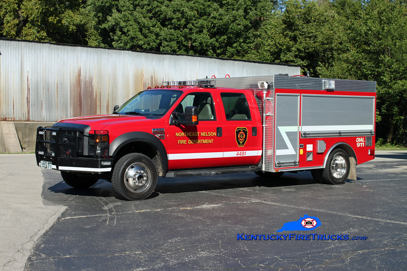<center> Northeast Nelson  Brush 4491 <br> 2009 Ford F-550 4x4/Bluegrass 250/300 <br> Kent Parrish photo </center>
