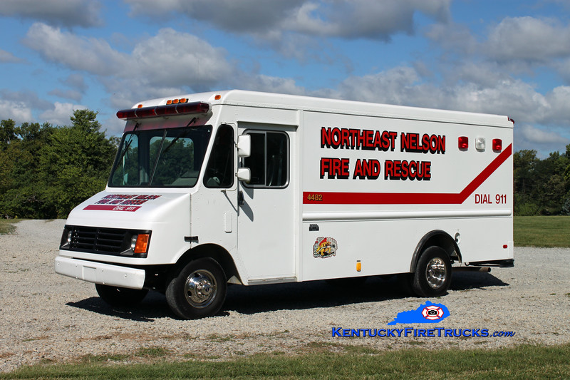 <center> Northeast Nelson  Support 2282 <br> 1994 Chevy/Union City Body  <br> Kent Parrish photo </center>