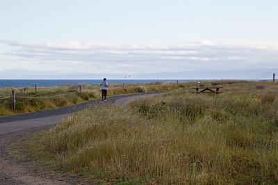 FB-180526-0001 Hiker on the Shoreline Trail
