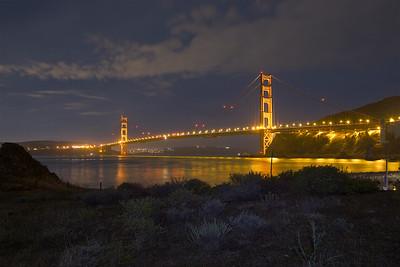 SF-GGB-181124-0001 The Golden Gate Bridge at Night