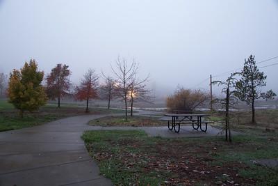 PF-181124-0002 Foggy morning at the park
