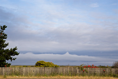FB-180524-0006 Wood Fence with Off Shore Cloud Layer