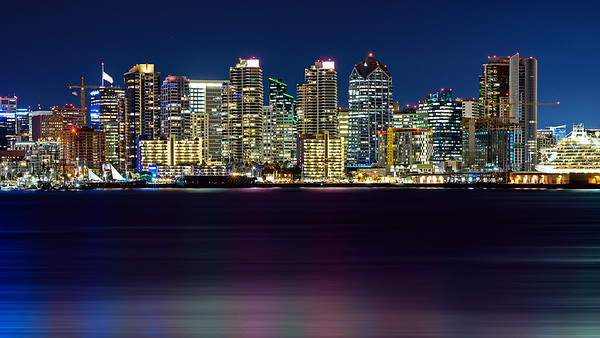 San Diego City Lights