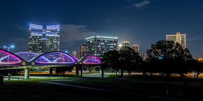 7th Street Bridge and Dowtown Ft Worth