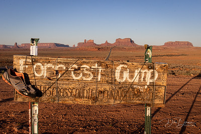 Forrest Gump Hill, Monument Valley