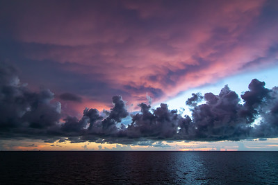 Clouds over Gulf of Mexico
