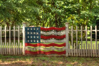 Flag Gate