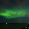 A stunning aurora in the early morning hours from Point Woronzof
