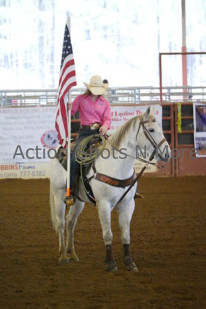 Northeast Louisiana High School Rodeo, Ruston, Sunday, 2/25/18