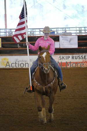 Northeast Louisiana Jr. High Rodeo, Ruston, Saturday morning, 2/24/18