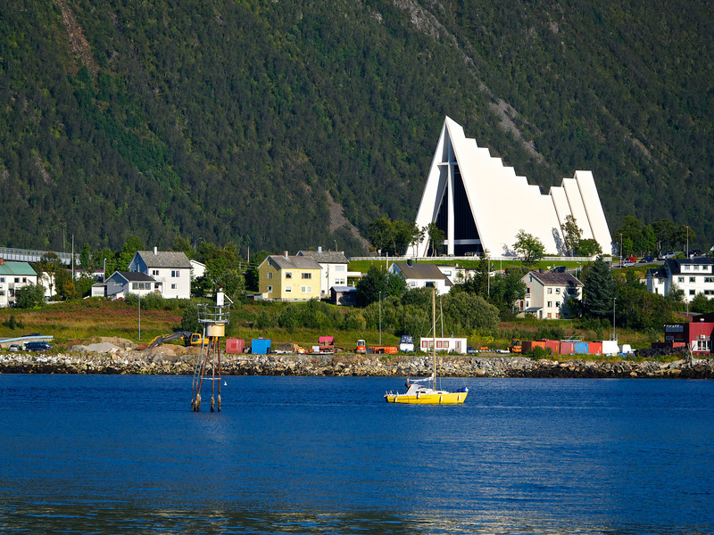 Arctic Cathedral in Tromsø