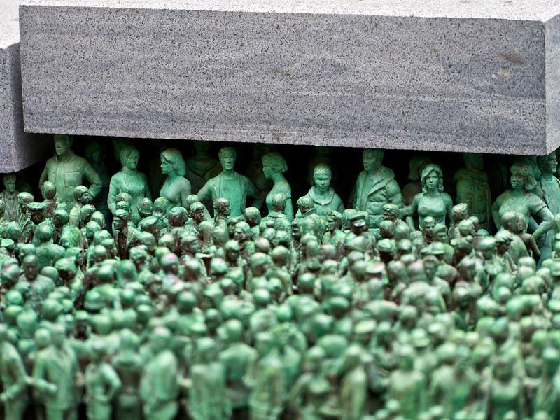 Sidewalk soldiers