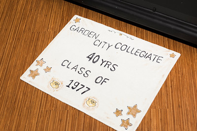 Garden City Collegiate Reunion - Class of 1977